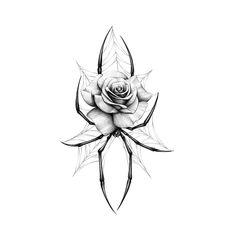Dope Tattoos, Mini Tattoos, Flower Tattoos, Tribal Tattoos, Animal Sketches, Art Drawings Sketches, Animal Drawings, Arm Tattoos Drawing, Blackwork