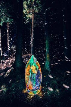 Instalation Art, Art Asiatique, Wow Art, Light Installation, Fantasy, Nocturne, Light Art, Light And Shadow, Beautiful World