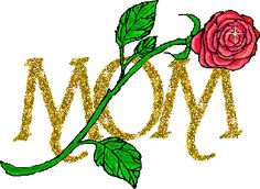 Animated-sparkling-glitter-Mom-with-rose-moving-picture[1]