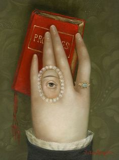 Hand with Promises. Fatima Ronquillo. This painter: love at first sight!