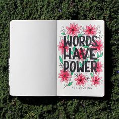 """Better Left Said on Instagram: """"Words, flowers & #JKRowling are a few of my favourite things. 📚📝💐 More on words in particular @ betterleftsaid.ca/wordshavepower…"""" My Favorite Things, Sayings, Words, Flowers, Instagram, Lyrics, Royal Icing Flowers, Flower, Florals"""