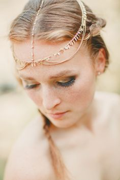 Moroccan wedding headdress | Donny Zavala Photography | see more on: http://burnettsboards.com/2014/08/moroccan-wedding-ideas/