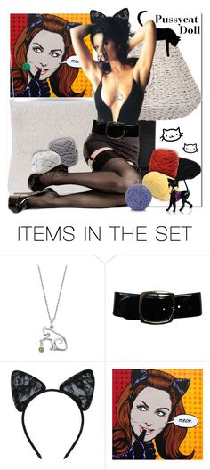 """""""Pussycat Doll"""" by wanda-india-acosta ❤ liked on Polyvore featuring art"""