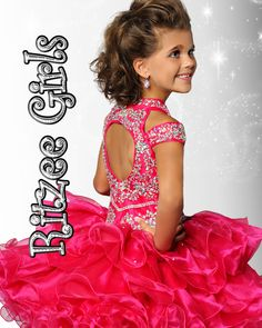 Ritzee Girls | Cupcake Gallery Girls Pageant Dresses, Girls Dress Up, Flower Girl Dresses, Kid Cupcakes, Bright Stars, Short Skirts, Little Girls, Infant Toddler, Wedding Dresses