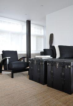 black trunks - coffee table ideas