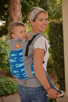Whales - Tula Toddler Carrier