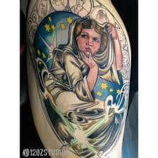 Princess Leia Tattoo 26