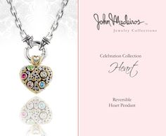 John Medeiros Celebration Collection Heart Pendant available at JW Graham in Wickford, RI