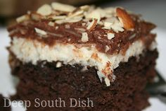 Deep South Dish: Almond Joy Cake