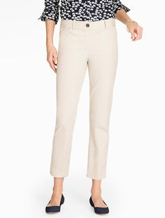 Love crop/ankle pants in Spring, Summer and early Fall