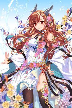 Sky by empew on DeviantArt Soccer Spirits, Watch Manga, Lolis Anime, Anime Monsters, Monster Girl, Mobile Wallpaper, Game Art, Cute Girls, Super Cute