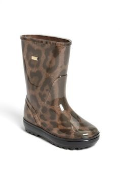 Dolce&Gabbana 'Leo' Rain Boot (Walker, Toddler, Little Kid & Big Kid) available at #Nordstrom