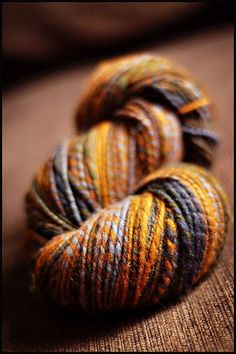 Perfect yarn for fall knitting