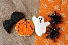 Halloween Decorated Cookies by FlavorPursuit on Etsy, $3.25