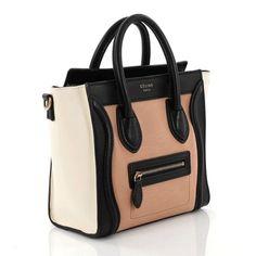 Celiné Tricolor Nano Luggage Bag - Est. Ret.  2 f34b308677baa
