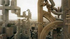 Cortometraje de la Ciudad de Osaka Transformanda en un mundo donde la Arquitectura crece orgánicamente - Noticias de Arquitectura - Buscador de Arquitectura