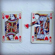 queen and king of hearts for Valentine