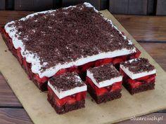 Dessert Cake Recipes, Pie Dessert, Breakfast Dessert, No Bake Desserts, Quiche, Polish Recipes, Sweet Cakes, Something Sweet, Baking Recipes