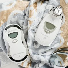 Nuskin for U Galvanic Body Spa, Galvanic Facial, Ageloc Galvanic Spa, Nu Skin, Beauty Skin, Health And Beauty, Neck Massage, Anti Aging Skin Care, Fitbit
