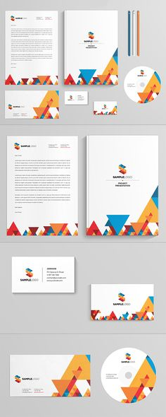 Stationary Design by Abra Design, via Behance
