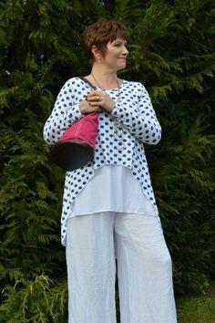 f45780a0fc24a Polka Dot Jersey – Mandy s Heaven - Women s Fashion Boutique UK Mature  Women Fashion