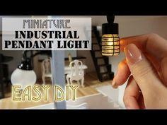 DIY миниатюрный Промышленный Привесной свет - Ютуб
