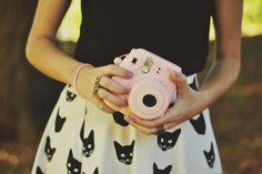 Skirt - h&m  Fujifilm instax mini 8   IG - kryskras