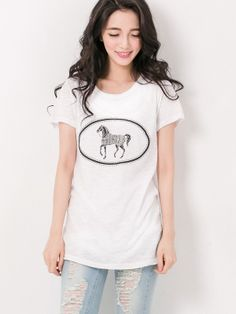 Made in Korea Soft Printed Tee $14.99