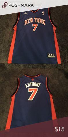 Carmelo Anthony New York Knicks NBA jersey. Children's Large Adidas Jersey adidas Tops