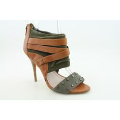 Leather Open Toe Heels - PLENTY by Tracy Reese the ZURI