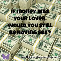Think about this... if money was your lover, would you still be having sex? Take this free quiz to see just how good your relationship with money really is!