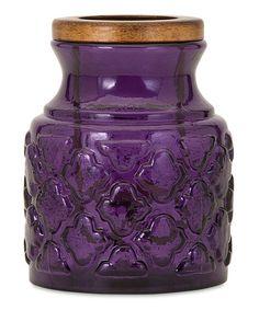 Look what I found on #zulily! Small Glass Lantern #zulilyfinds