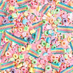 This Rainbow Unicorn Candy Bark is magically delicious and so easy to make!