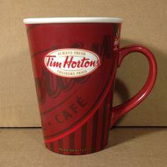 Tim Hortons Coffee Mug limited edition 008 Always Fresh french and english #TimHortons