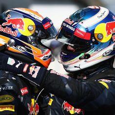 Max Verstappen & Daniel Ricciardo | Red Bull Racing 2016