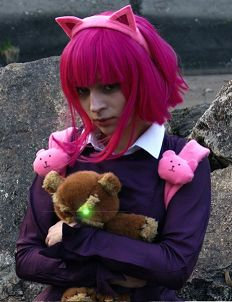 Annie's Cosplay; FaceBook page : http://tiny.pl/gmn5p  Instagram -> @hella_a_oficiall #cosplay #annie #league #legends #lol #leagueoflegends #tibbers #pink #hair