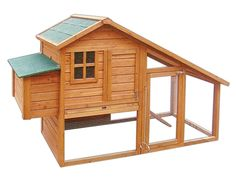 Coop of my dreams -but need to add concertina wire for the bears-just kidding