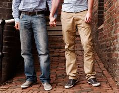Wedding Engagement Story: Dan  Mike - A Young Gay Couple Engaged To Be Married - TyingTheKnott.com Wedding Network