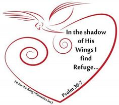Psalm Refuge in the shadow of His wings Bible Scriptures, Bible Quotes, Psalm 36, Spiritual Inspiration, Tattoo Inspiration, Favorite Bible Verses, Walk By Faith, Christian Inspiration, Trust God