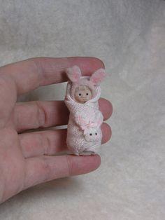Tiny Bunny by ElfinHugs, via Flickr