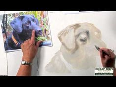 How to Paint a Dog's Face with Watercolor Artist Nancy Couick-Part 1 - YouTube. Please also follow www.JustForYouPropheticAt.com for colorful inspirational Prophetic Art and stories. Thank you so much! Blessings!