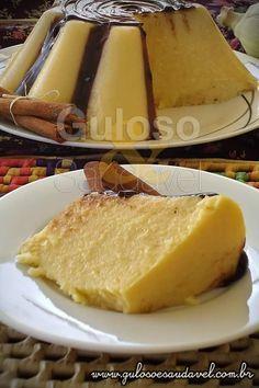 Flan de Milho Verde » Doces e sobremesas, Liquidificador, Receitas Saudáveis » Guloso e Saudável