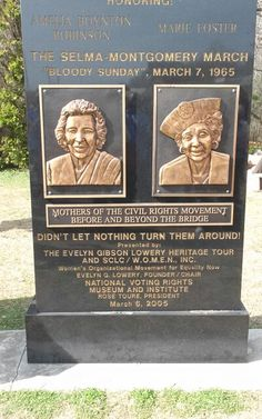 There were many women leaders in Selma and the civil rights movement
