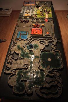 Best RPG tables from Tom, décors de jeu de role, dwarvenforge.info