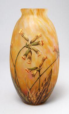 Daum Nancy, Yellow Floral