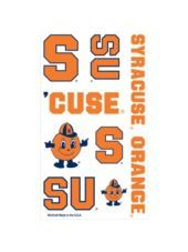 syracuse orange tattoos 8 sheets - Party City