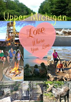 Exploring the U.P. of Michigan- Love Where You Live! | Child Central Station - a round up of favorite places and things to do in the Upper Peninsula of Michigan!