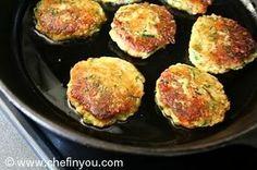 Zucchini Potato Fritters Recipe   Pan Fried Zucchini Patties   Chef In You