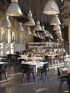 future lights restaurant decor interior