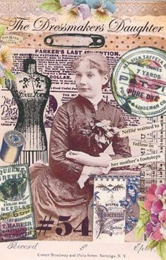 EKDuncan - My Fanciful Muse: Antique Cabinet Card Photos & Altered Art - Great for Steampunk Art